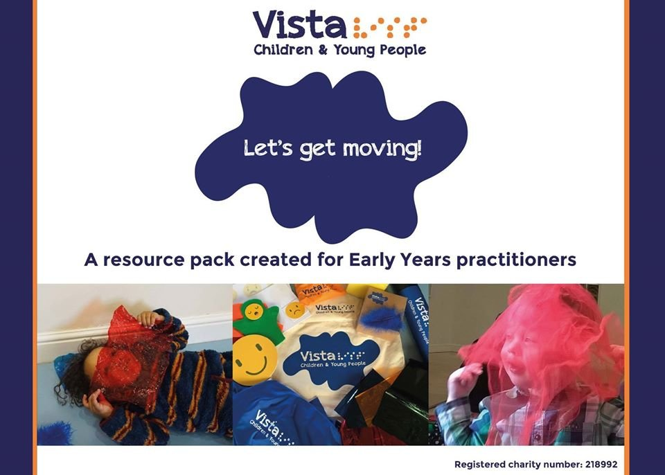 Early Years Resource Pack - 'Let's get Moving' training pack - screenshot