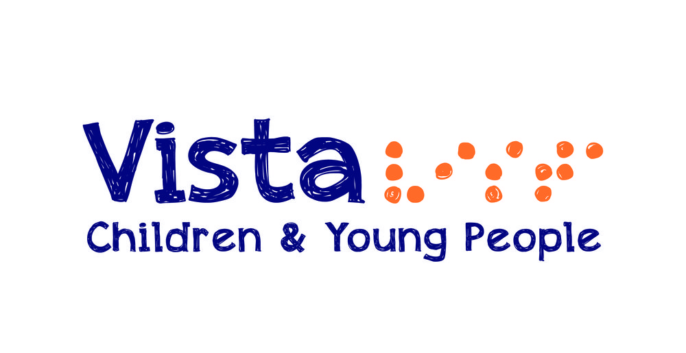 A picture of the Vista Children and Young People logo.