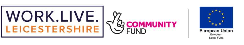 Lottery Community fund and EU fund logos