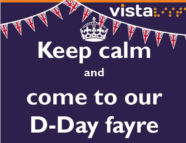 Keep calm and come to our D-Day fayre
