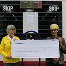Bowling Ladies Cheque